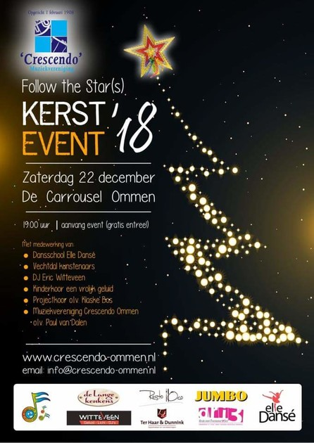Kerstevent Follow The Star(s)
